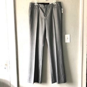 NWT Gap Modern Boot Career Pants Womens Sz 10L